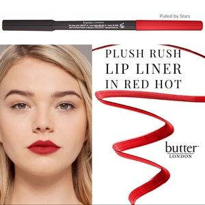 butter LONDON • Plush Rush Lip Liner in Red Hot